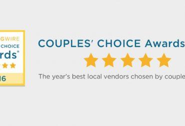 Won Another Couples Choice Award!