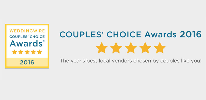 Won Another Couples Choice Award!
