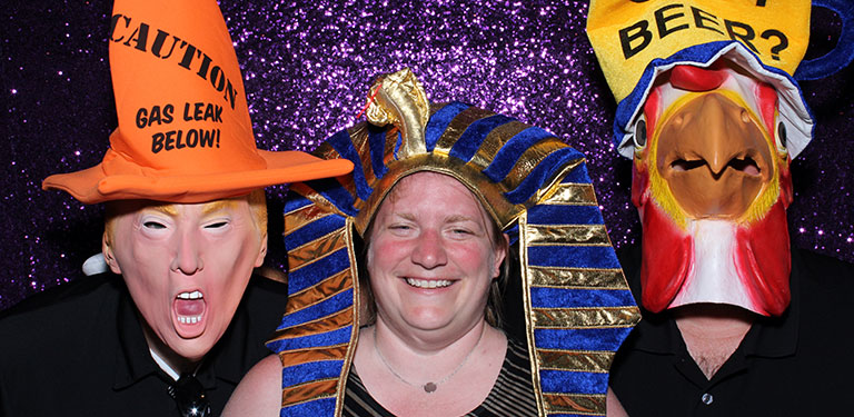 Photobooth services by DJ Susie Huelsman