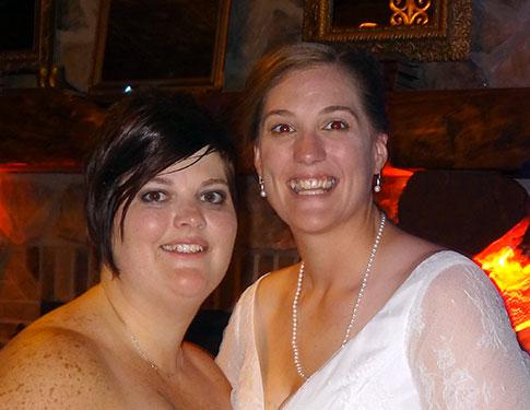 Dana and Sarah
